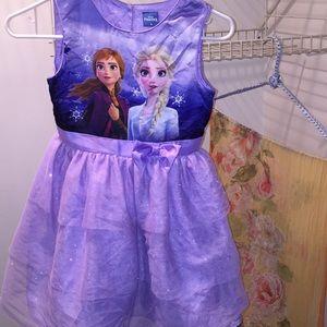 Disney Frozen II dress 👗 size 8 GUC